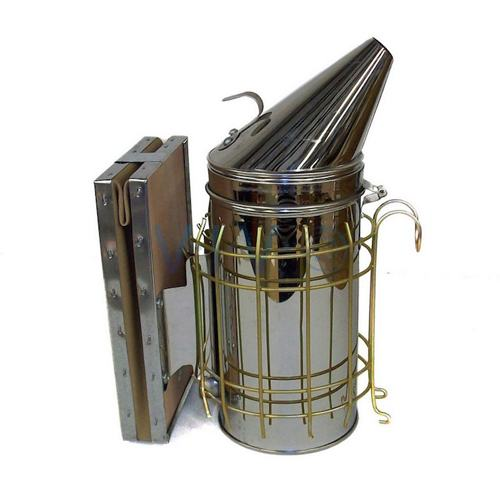 7-Inch Stainless Honey Bee Steel Smoker