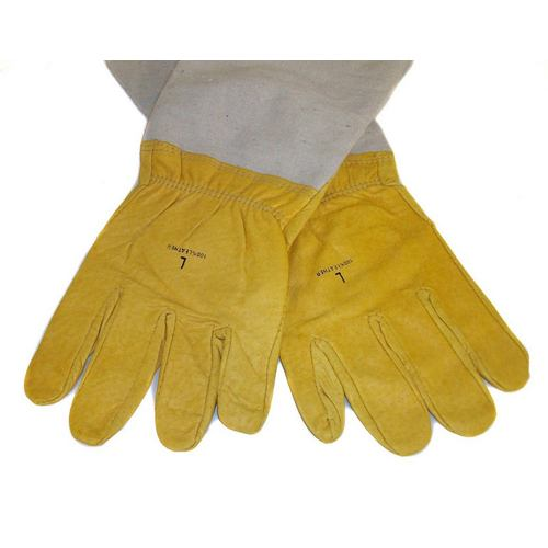 Leather Beekeeping Gloves