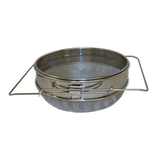 Stainless Steel Double Sieve (Honey Strainer)