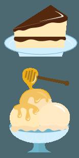 BCB HC dessert | Bear Country Bees
