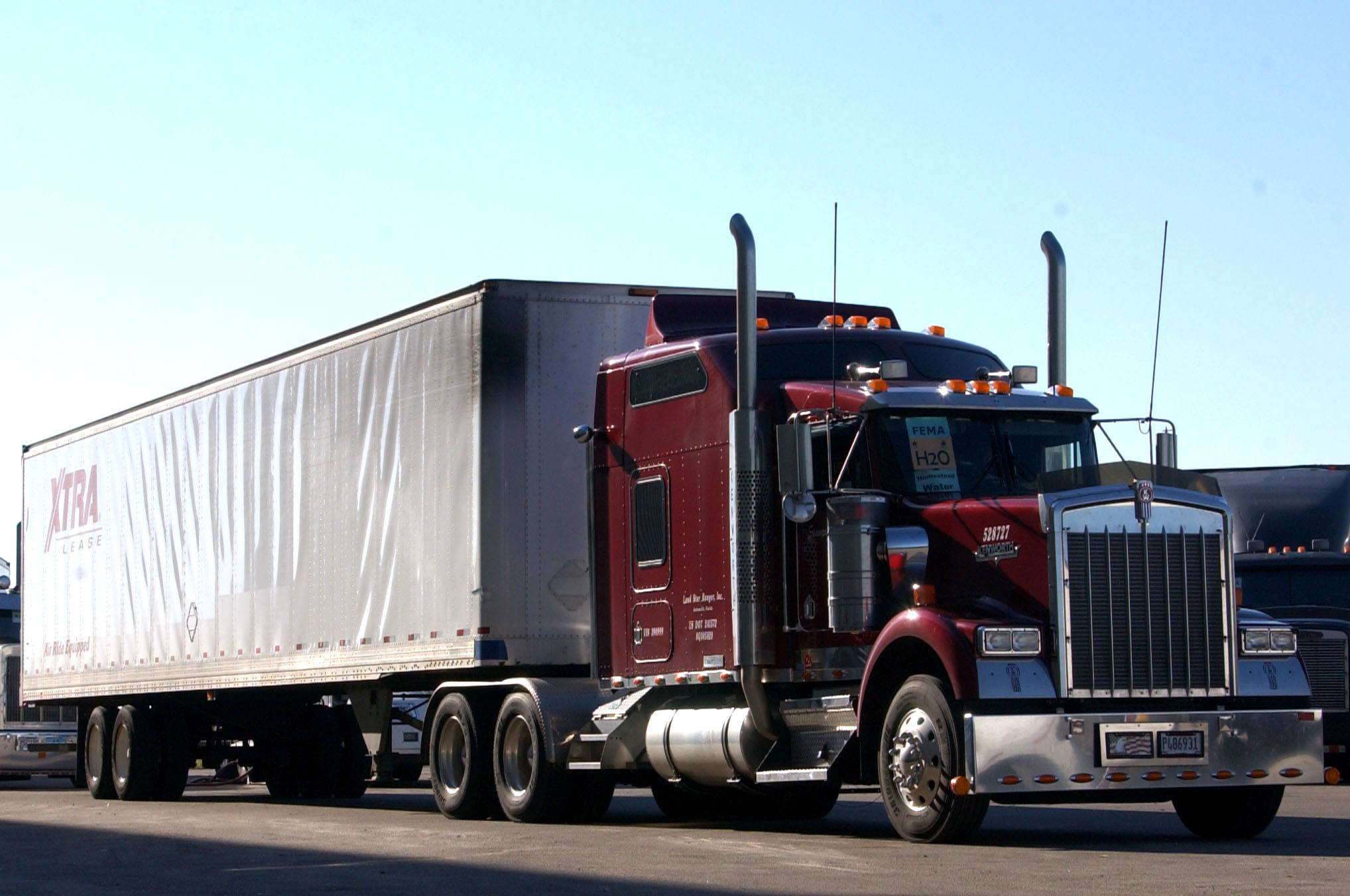 Climate Controlled Tractor Trailer