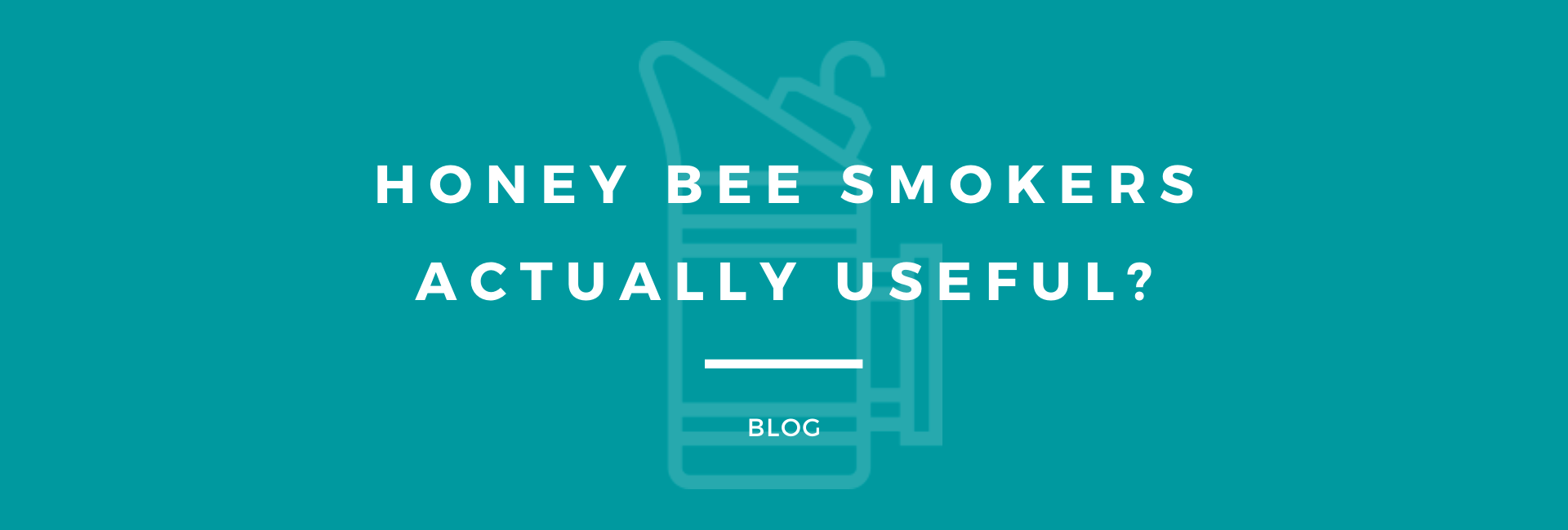 Honey Bee Smoker Usefulness - Featured